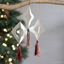 wood tassel ornaments lia griffith