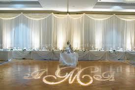 wedding backdrop monogram white wedding backdrop lighted floor monogram event