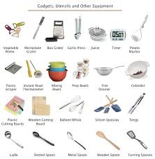 vocabulaire de cuisine kitchen cooking equipment list cooking essentials