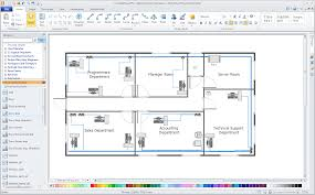 Sample Office Layouts Floor Plan Computer Network Diagrams Solution Conceptdraw