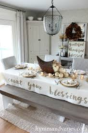 count your blessings cornucopia thanksgiving tablescape hymns