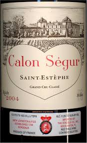 château calon ségur grand cru st estephe bordeaux wine labels on rick s winesite
