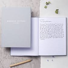 letters to my birthday letters to my baby by emily rollings notonthehighstreet
