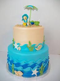 Cake Decorations Beach Theme - best 25 beach baby showers ideas on pinterest beach baby rooms