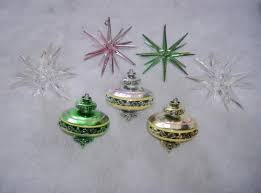 vintage ornaments for a retro inspired tree