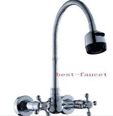 spring spout kitchen faucet oil rubbed bronze kohler pull down