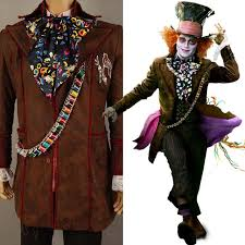Mad Hatter Halloween Costume Collection Johnny Depp Halloween Costume Pictures Johnny Depp