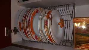 plate organizer for cabinet plate organizer it s easier in and out the kitchen cupboard ikea