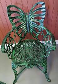 Butterfly Patio Chair Statue Esque Aluminum Patio Furniture