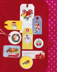 recycled christmas card crafts martha stewart