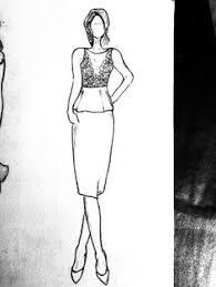 fashion design sketch a thing created pinterest fashion