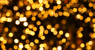 yellow bokeh lights background stock footage