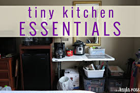 tiny kitchen essentials hotel living tiny kitchen essentials
