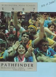 high school yearbook finder explore 1987 burlington high school yearbook burlington ia