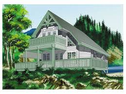 a frame house plans a frame home plan is a weekend cabin design