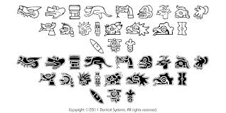 aztec day symbols clipart library