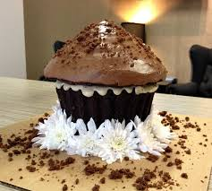 giant cupcake recipe gluten free dairy free vegan chocolate