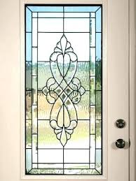Exterior Door Inserts Stained Glass Doors Stained Glass Designs For Doors Beautiful