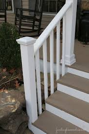 Outdoor Banisters And Railings Best 25 Front Porch Makeover Ideas On Pinterest Front Porch