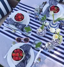 Fourth Of July Tablecloths by Summer Entertaining Tricks Domestikatedlife
