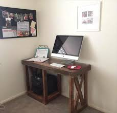 computer desk ideas for small spaces cheap diy computer desk best 25 diy computer desk ideas on pinterest