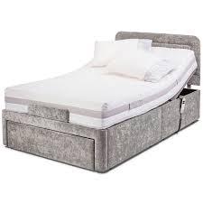4ft bed 4ft dorchester adjustable bed by sherborne