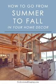 how to transition your home decor from summer to fall