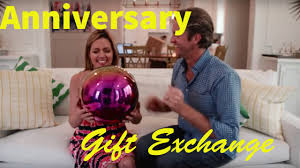 anniversary gift exchange the holderness family youtube