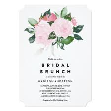 brunch invites bridal shower invitations announcements zazzle au