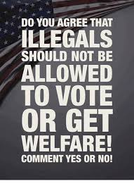 How To Get Welfare Meme - do you agree that illegals should not be allowed to vote or get
