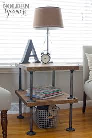 Diy Side Table Furniture 25 Best Diy Side Table Ideas And Designs For 2018 Plus