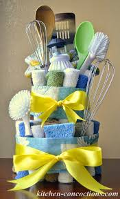 kitchen gift basket ideas creative soap ideas dish towel cake by tutorial