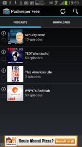 free podcasts for android podkeeper search and listen to podcasts on android