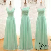 wholesale mint green full length dress buy cheap mint green full