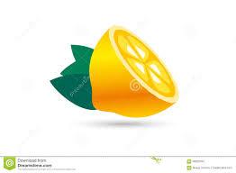 lime slice silhouette lime or lemon fruit slice lemonade juice logo stock vector