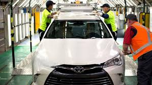 where is toyota made the last car to be made in australia the toyota camry starts