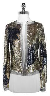 Gold Sequin Cardigan Bcbgmaxazria Max Azria Collection Cardigan 78 Off Retail