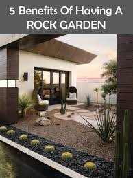 Backyard Rock Garden by 5 Benefits Of Having A Rock Garden Contemporist