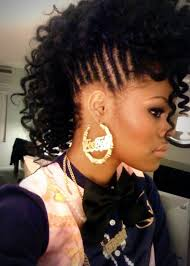 the half braided hairstyles in africa pictures on african american half braided hairstyles cute