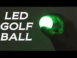 light up golf balls light up led golf balls great quality youtube