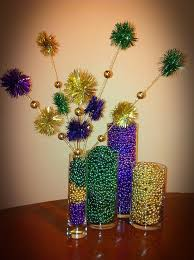 Vase Table Centerpiece Ideas 183 Best Mardi Gras Centerpieces Images On Pinterest Mardi