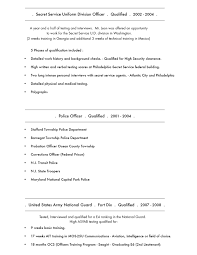 Army Resume Sample by Civilian Security Officer Cover Letter