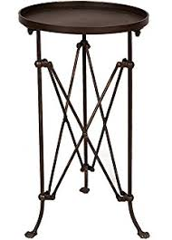 Industrial Accent Table Amazon Com Deco 79 Industrial And Rustic Style Accent Table