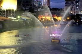 pia bureau bureau of protection showered a water cannon salute to
