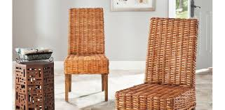 dining room breathtaking wicker or rattan dining room chairs