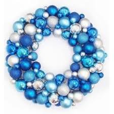 blue wreath wreaths blue and