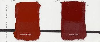 gamblin artist oils 37ml indian red