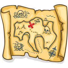 treasure map clipart treasure map transparent png stickpng