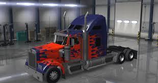 kenworth website optimus prime kenworth w900 truck metallic american truck