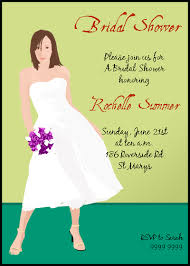 bridal shower invitations wording custom bridal shower invitation sles